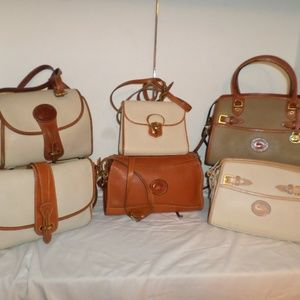 LOT OF 6 DOONEY AND BOURKE VINTAGE SATCHELS